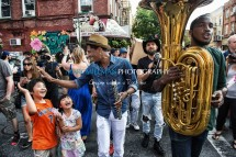 Jon Batiste And Stay Human on the streets of Williamsburg (Tue 6 9 15)-217-Edit
