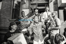 Jon Batiste And Stay Human on the streets of Williamsburg (Tue 6 9 15)-279-Edit