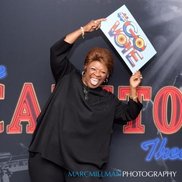 IRma Thomas backstage- Jam The Vote Capitol Theatre (Sun 11 6 16)