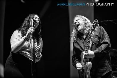 Aledcia Chakour & Warren Haynes- Warren Haynes Band Capitol Theatre (Fri 10 12 12)